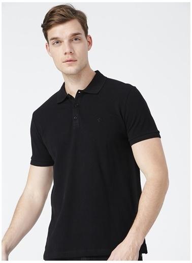 Fabrika Comfort Fabrika Comfort Siyah Erkek Cepsiz PoloT-Shirt Siyah
